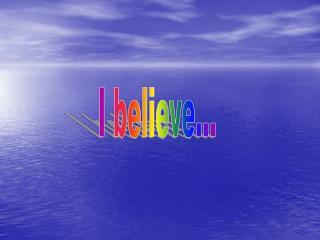 I believe…