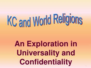 KC and World Religions