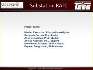 Substation RATC