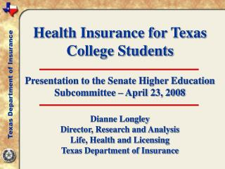 Health Insurance for Texas College Students