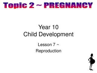 Year 10 Child Development