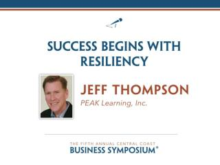 Success Begins With Resiliency