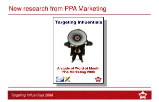 New research from PPA Marketing