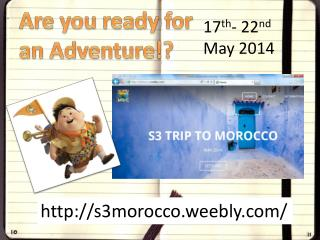 Are you ready for an Adventure!?