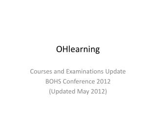 OHlearning