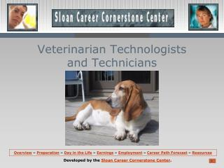 Veterinarian Technologists  and Technicians