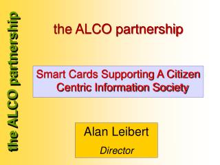the ALCO partnership