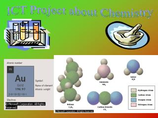 ICT Project about Chemistry