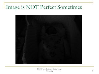 Image is NOT Perfect Sometimes
