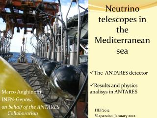 Neutrino telescopes in the Mediterranean sea