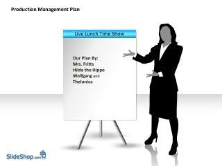 Production Management Plan