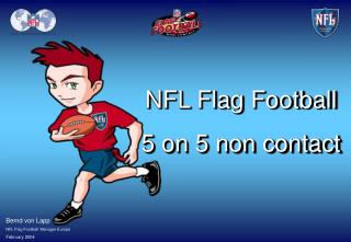 NFL Flag Football 5 on 5 non contact