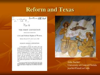 Reform and Texas