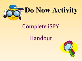 Do Now Activity