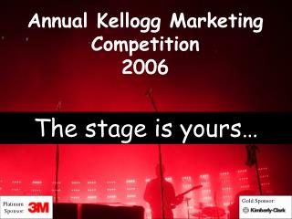 Annual Kellogg Marketing Competition 2006