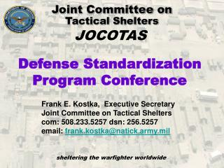 Joint Committee on  Tactical Shelters