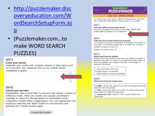 puzzlemaker.discoveryeducation/WordSearchSetupForm.asp