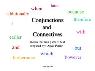 Conjunctions and  Connectives