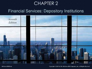 Overview of Depository Institutions