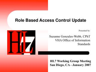 Role Based Access Control Update