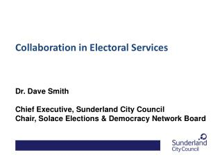 Collaboration in Electoral Services