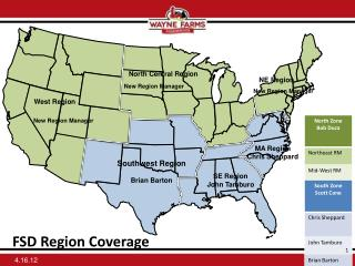 FSD  Region Coverage