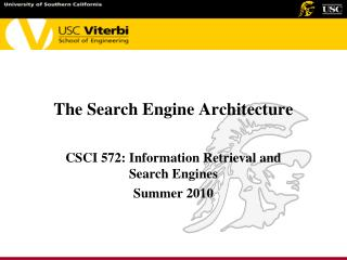 The Search Engine Architecture