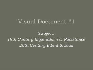 Visual Document #1