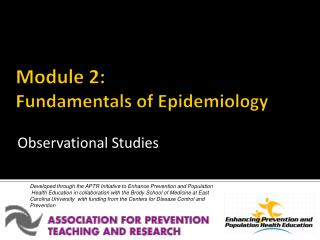 Module 2: Fundamentals of Epidemiology
