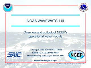 NOAA WAVEWATCH III