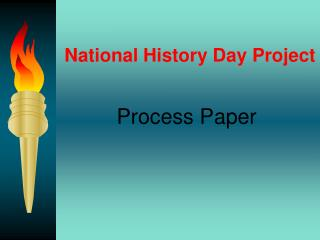 National History Day Project