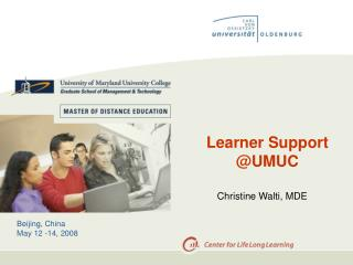Learner Support @UMUC