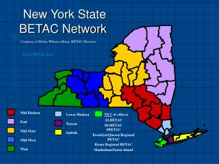 New York State                                                 BETAC Network