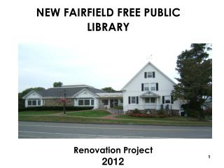 NEW FAIRFIELD FREE PUBLIC LIBRARY