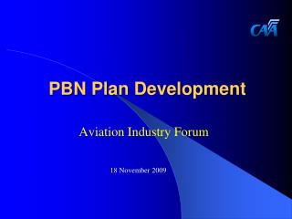 PBN Plan Development
