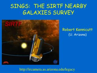 SINGS:  THE SIRTF NEARBY GALAXIES SURVEY