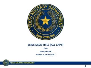 Human Capital Management for Defense