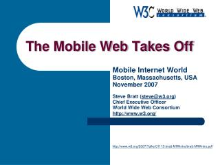 The Mobile Web Takes Off