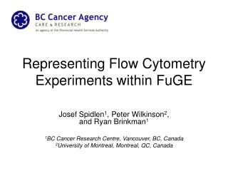Representing Flow Cytometry Experiments within  FuGE