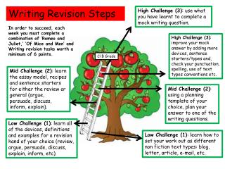 Writing Revision Steps