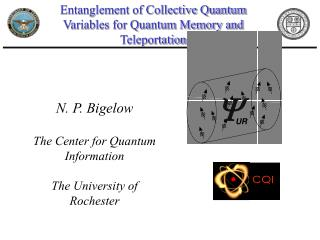 Entanglement of Collective Quantum Variables for Quantum Memory and Teleportation