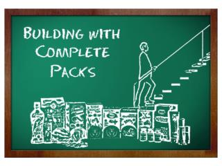 Building With Complete Packs