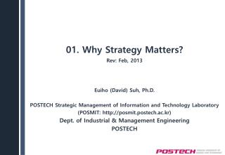 01. Why Strategy Matters?