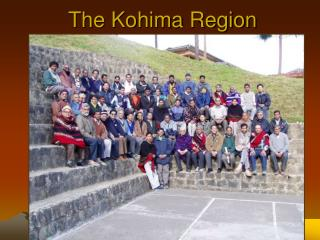 The Kohima Region of the Society of Jesus in North Eastern India