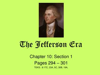 The Jefferson Era