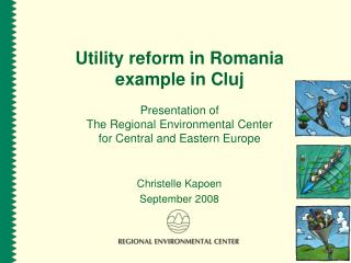 Utility reform in Romania example in Cluj