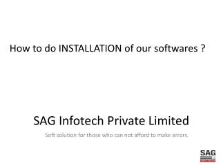 SAG Infotech Private Limited