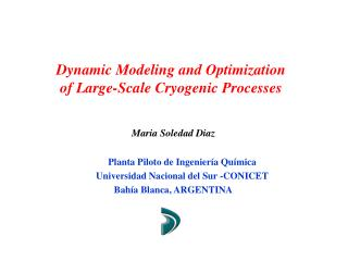 Dynamic Modeling and Optimization of Large-Scale Cryogenic Processes