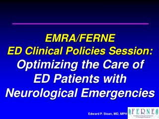 Optimizing Seizure and SE Patient Management: Seizure Therapies Clinical Policy Review