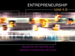 ENTREPRENEURSHIP Unit 1.2